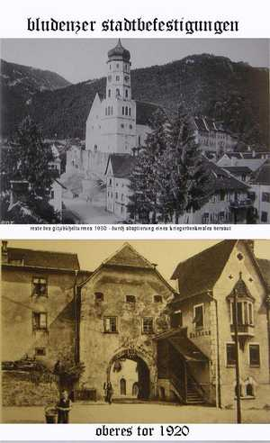 old ' Bludenz ' called in last century