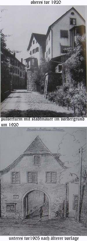 Bludenz in 1905