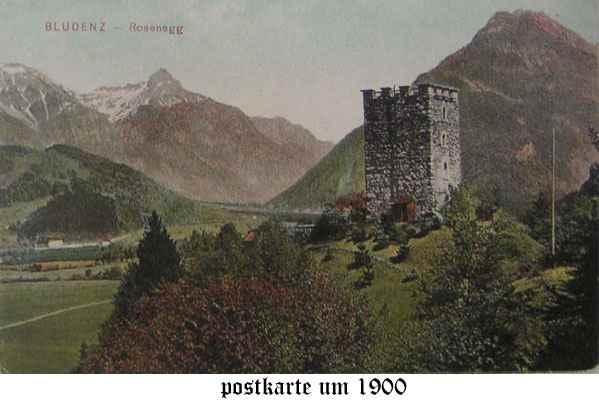 Bludenz postcard