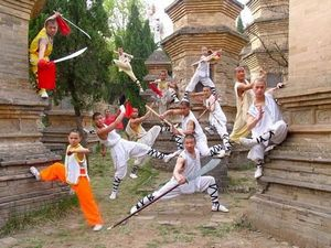 Monks fighting position