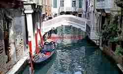 Walking in Venice Italy with musician - Canale