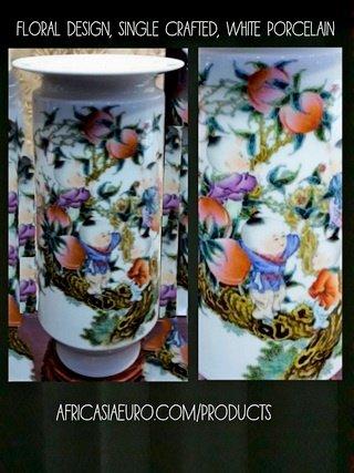 floral design vase 20 inch